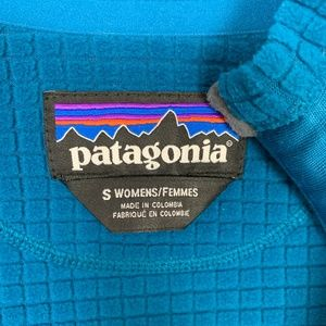Patagonia Jackets & Coats - Patagonia R1 Full Zip Fleece Jacket Teal Small S